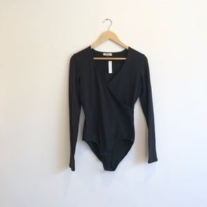 Black bodysuit from Madewell - NWT
